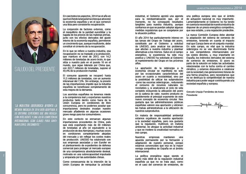 Diseño Maquetación emeye catálogo UNESID presidente