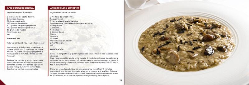 Diseño gráfico maquetación emeye recetario de cocina recetas