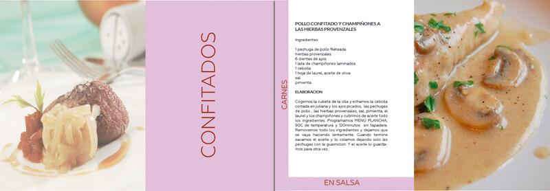 Diseño maquetacion emeye manual de instrucciones recetario de cocina