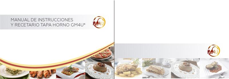Maquetación y diseño emeye recetario de cocina tapa horno einnova