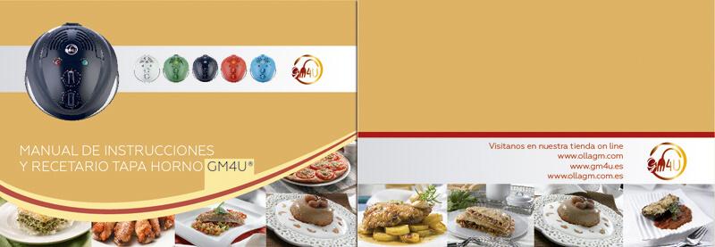 Maquetación y diseño emeye recetario de cocina tapa horno