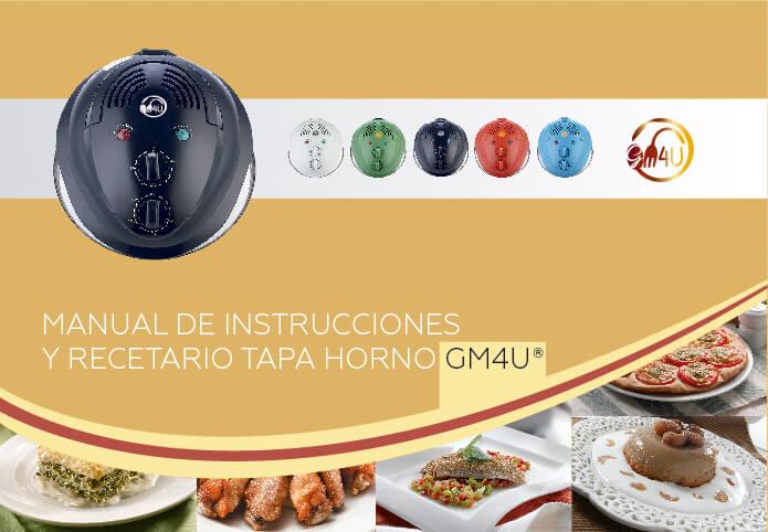 Maquetacion diseño de portada libro recetario tapa horno gm4u