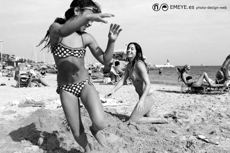Fotografías de Europa por Emeyé En la playa de Cannes