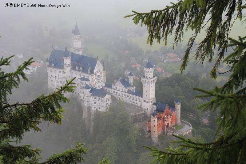 Fotografías de Europa por Emeyé castillo neuschwanstein