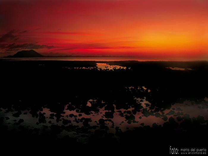 Fotografías de Paisajes en Fuerteventura por Emeyé Atardecer