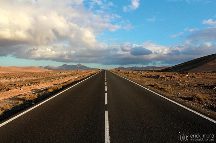 Fotografías de Paisajes en Fuerteventura por Emeyé On the road