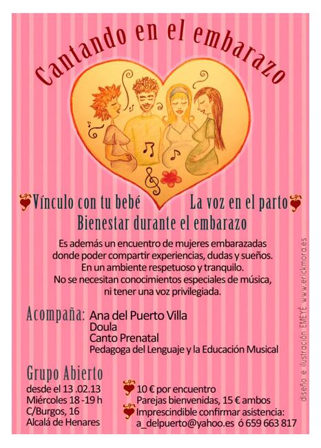 Diseño Gráfico de carteles para Ana Vinculo con el Bebe por Emeyé