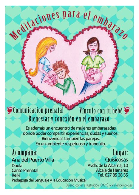 Diseño Gráfico de carteles para Comunicación Prenatal por Emeyé