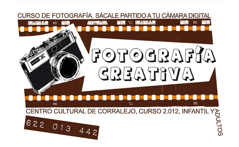 Diseño Gráfico de carteles para Curso de Fotogaría por Emeyé