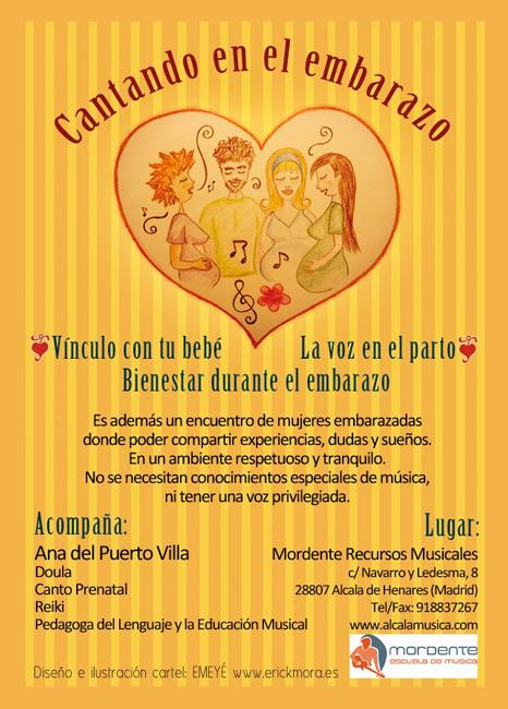 Diseño Gráfico de carteles para La Voz en el partopor Emeyé