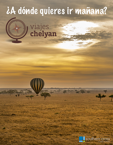 Diseño cartel viajes Chelyan