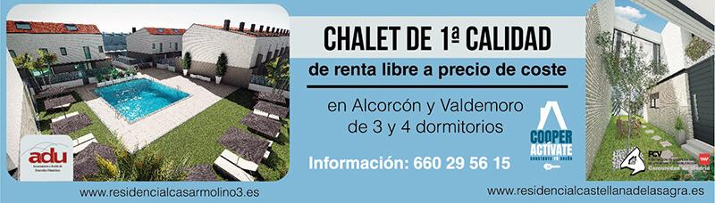 Diseño de Cartel para Chalet Alcorcón