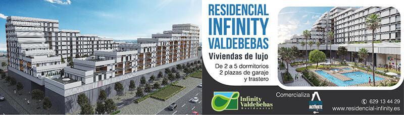 Diseño de Cartel viviendas de lujo Valdebebas