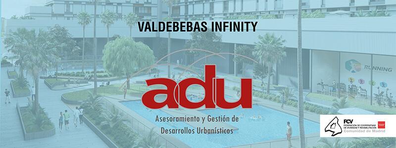 Diseño de cartel para Adu Valdebebas Infinity