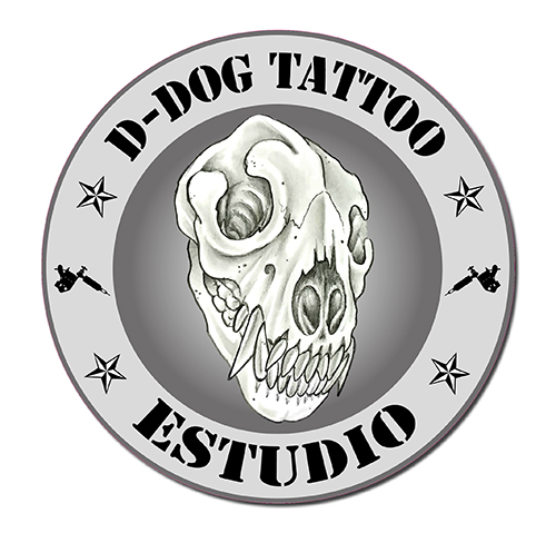 Diseño-de-logotipo-para-D-Dog-Tatoo-studio