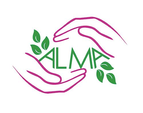 Diseño de logotipo para centro de belleza alma