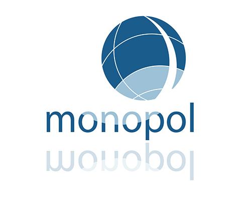 Diseño Logotipo para agencia monopol