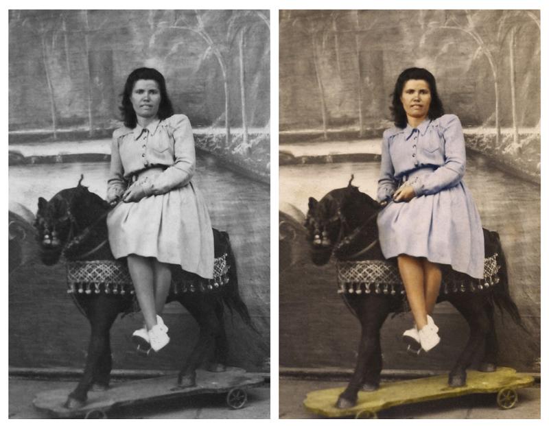 Digitalización de fotos antiguas, recuperación