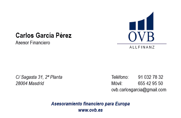 Diseño Tarjeta de visita Ovball finanz emeye