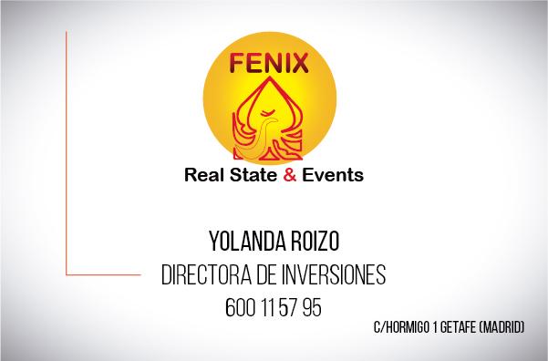 Diseño Tarjeta visita Inmobiliaria Fenix real state emeye-01