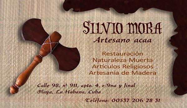 Diseño tarjeta visita emeye artesano
