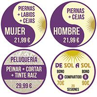 Diseño-gráfico-vinilos-Pegatinas-Redondas-Electrostáticas-de-sol-a-sol