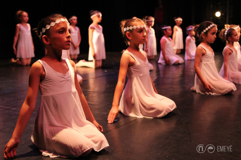 Fotografía de Espectáculos Emeyé_Danza contemporanea infantil