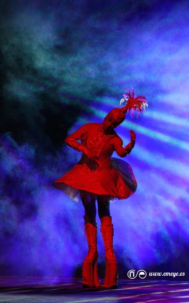 Fotografía de Espectáculos Emeyé_Drag Queen