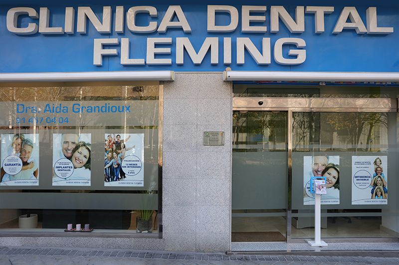 Fotografia negocios clínica dental fleming