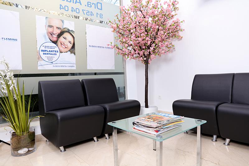 Fotografia negocios clínica dental sala de estar