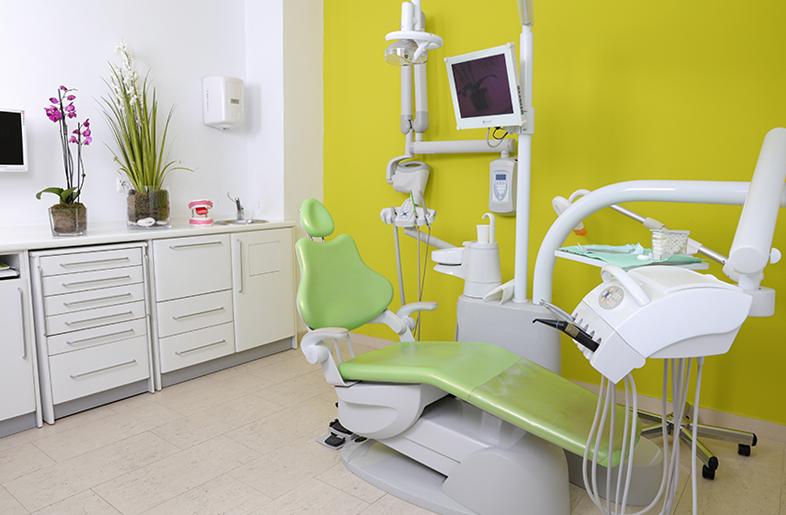 Fotografia negocios clínica dental sala