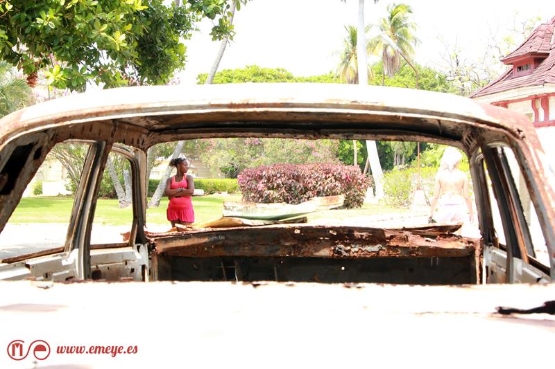 Reportaje Fotográfico Emeyé carros viejos en la habana