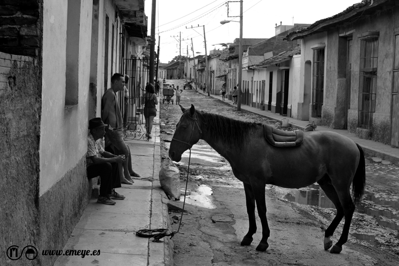 Reportaje Fotográfico Emeyé las calles de Trinidad