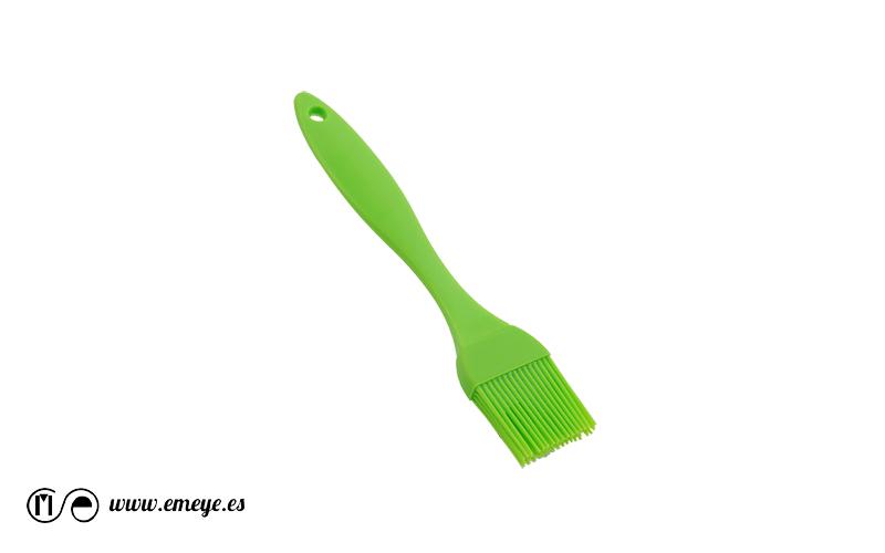 fotografía de productos Emeyé Brocha de silicona Verde