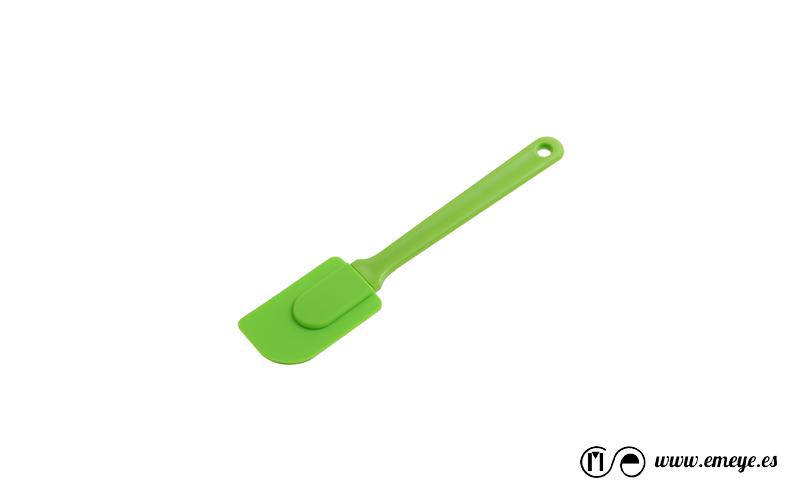 fotografía de productos Emeyé Espatula de silicona Verde