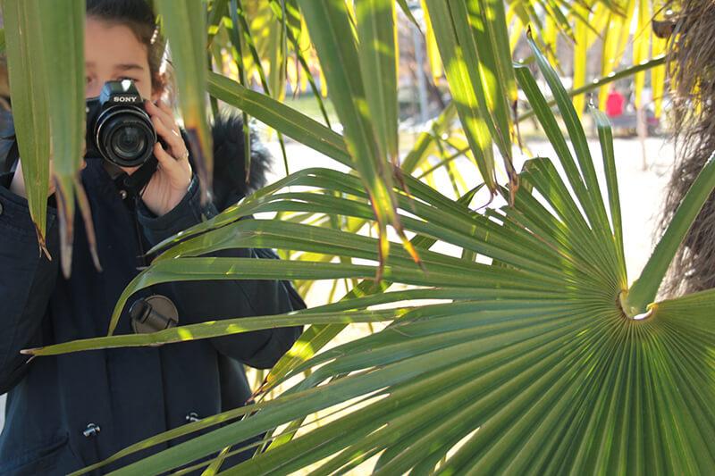 Curso Fotografía Emeyé Retratos exterior naturaleza