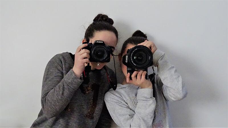 Curso fotografía Emeye fondo retratos