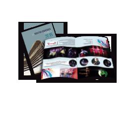 Portada Diseño catalogos y revistas