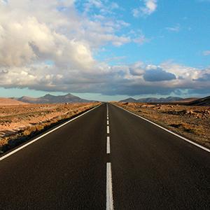 Portada Fotografías On the road Fuerteventura