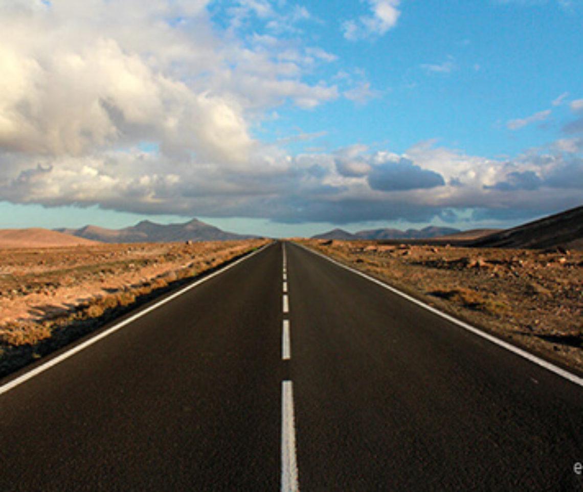 On the road Fuerteventura
