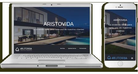 Diseño-web-emeyé para aristovida inmobiliaria