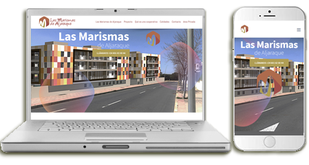 Diseño-web las marismas de aljaraque-emeyé