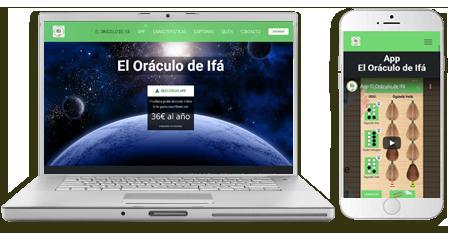 Diseño-web-emeyé para el oraculo de ifa