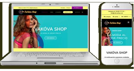 Diseño-web tienda online vakovashop-emeyé